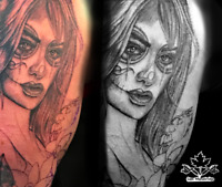 Who wants a tattoo Port Dover?  Dec 13 available