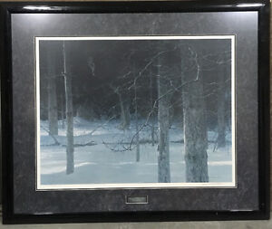 Midnight Black Wolf,  Robert Bateman