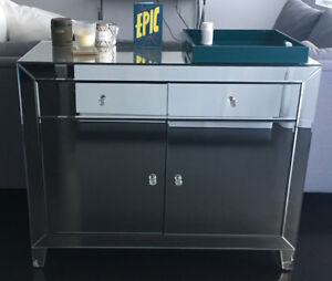 Accent Cabinet - mirrored