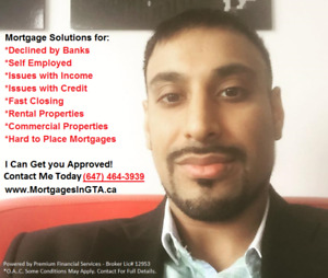 1st & 2nd Mortgages for Income/Credit Issues Approved in GTA