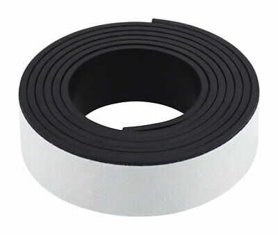 Magnet Source Magnetic Tape W Adhesive Flexible Craft Magnet 0.5 X 30 L 07011