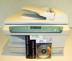 XEROX XD105F PRINTER COPIER ERROR CODE L6 - FOR PARTS OR REPAIRS