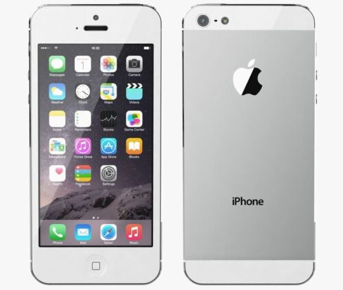 Apple IPhone 5 - 16GB - White Silver telus A1428 GSM  - $30.00