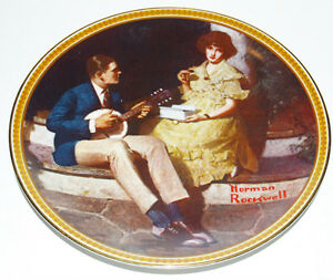 Norman Rockwell Plates, 4 Rediscovered Women Collection +1 Kitchener / Waterloo Kitchener Area image 6