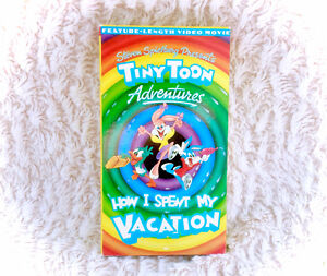 Vintage Tiny Toons VHS Movie Tape How I Spent Vacation 80s