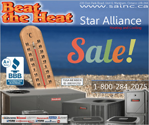 |Guelph New CENTERAL AIR CONDITIONING - Best rates!