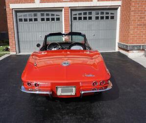 1965 Corvette C2 Sting Ray convertible PS/PB/PW