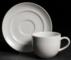 Nuance by Ranmaru Japan White Cups & Saucers