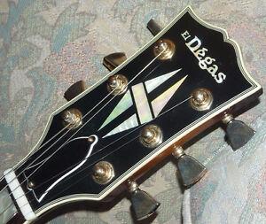 El Degas Model 860TS Les Paul Custom Made in Japan