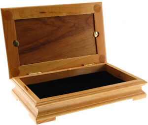 Wood Display box with *Wood Top*