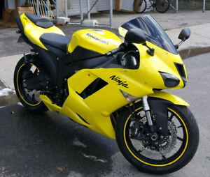 Kawasaki Zx6r Showroom Condition, Extremely Low Mileage