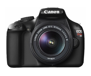 Canon EOS Rebel T3 12.2MP Digital SLR Camera with EF-S 18-55mm