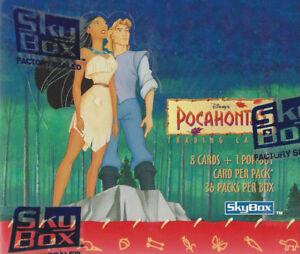 Skybox Disney Pochahontas Card Box
