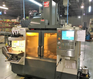 2011 Haas VF2 , With HRT-210 Rotary Table, Thru Spindle Coolant