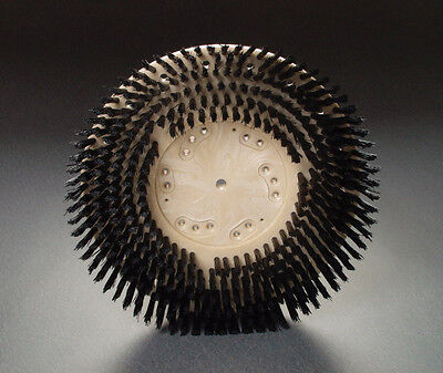 13 Poly Brush W Clutch Plate Buffer Scrubber For Clarke Tennant Windsor