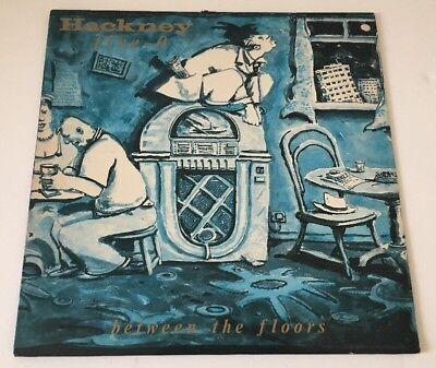 HACKNEY FIVE-0 BETWEEN THE FLOORS 1986 VINYL LP EX+ Pro Cleaned & Play Tested