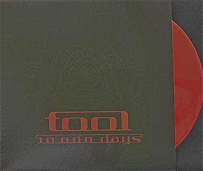 TOOL 10,000 DAYS 2 X LP COLOR VINYL LP