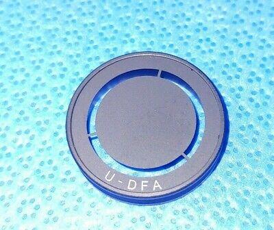 Olympus U-dfa Darkfield Stop Condenser Ring Bx Series Bx61 U-dfa