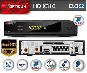 Dekoder Tuner Box Hdmi HD Opticum X310 Tnk HD Smart HD+ Seca Mediaguard Cyfra+