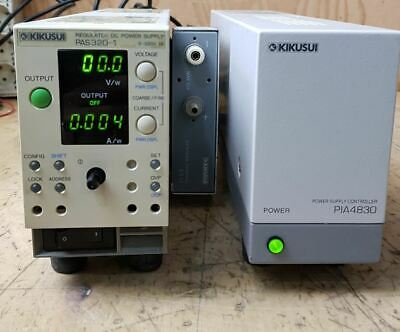 Kikusui Pas320-1 320v1a Requlated Dc Power Supply