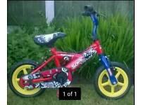 Sonic toddler bike.