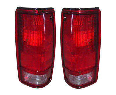 NEW PAIR OF TAIL LIGHTS W/O BEZEL FITS CHEVROLET S10 1982-1993 GM2801106 915709