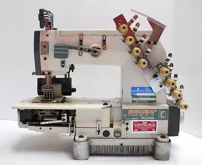 Siruba Vc008 Chainstitch 4-needle 8-thread Puller Industrial Sewing Machine Head