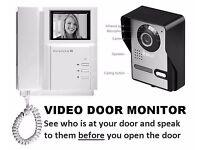 LANDLORDS! NIGHTVISION Video Door Monitor - Help Elderly Residents remain SAFE.
