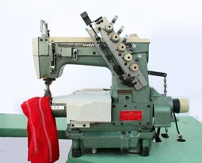 Kansai Special M1103autc 3-needle 4-thrd Coverstitch Industrial Sewing Machine