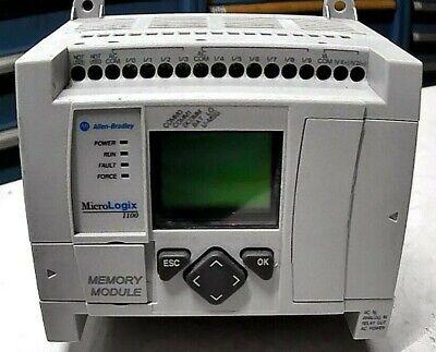 Ab Rockwell 1763-l16awaser B Plc Module 16pt Controller Micrologix1100 Fr Ship