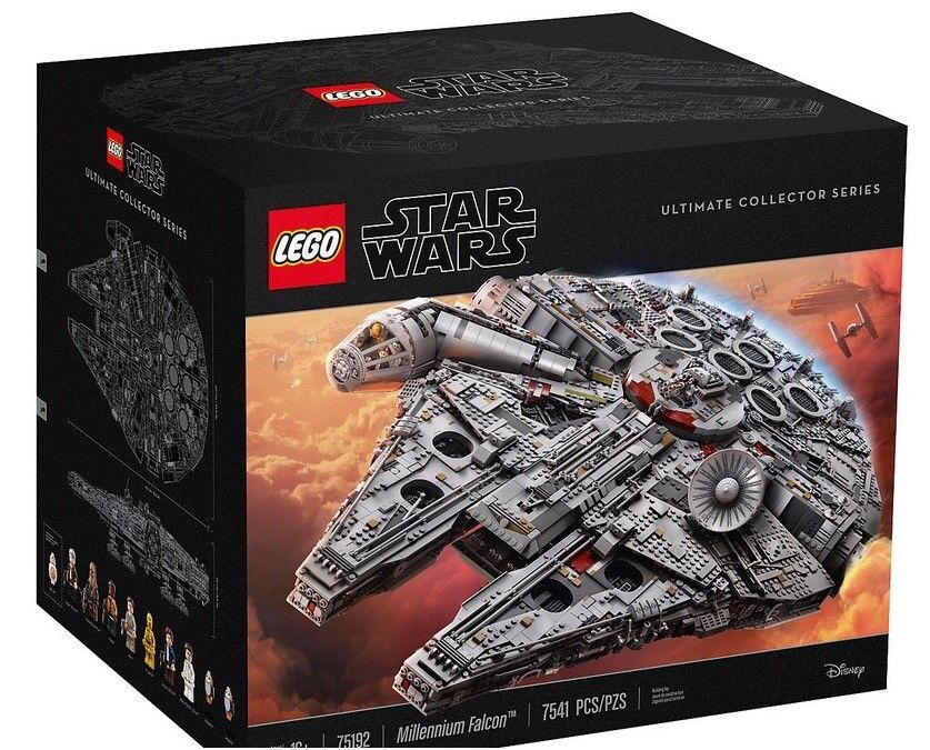 LEGO - Star Wars - UCS Millennium Falcon - 75192 - Brand New & Sealed