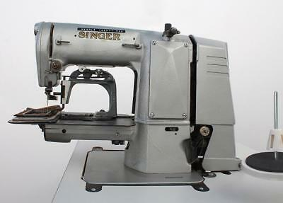Singer 269x999 Label Tacker 3-14 X 1-34 Box Industrial Sewing Machine 110v