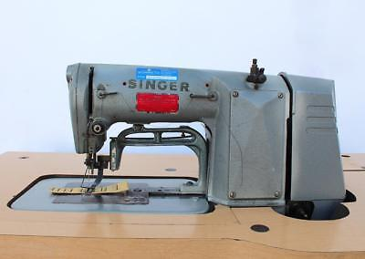 Singer 269w39 Bar Tacker Adjustable 34 Industrial Sewing Machine 220v 3ph