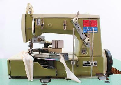 Rimoldi 264 Chainstitch Elastic Attaching Binder Industrial Sewing Machine 110v