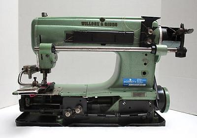 Willcox Gibbs S1522 2-needle 14 Chainstitch Industrial Sewing Machine Head