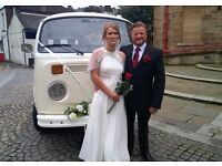 Wedding Campervan chauffeur driven for hire