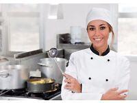 Sous chef and chef de partie