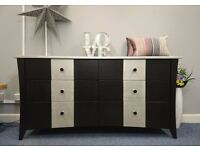 Large Luxury Solid Wood Modern Chest of drawers.