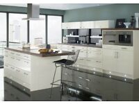 Cream gloss kitchen offer***Must see***