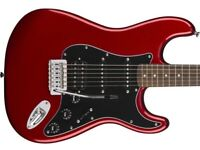 Fender Squier Affinity Stratocaster HSS Candy Apple Red.