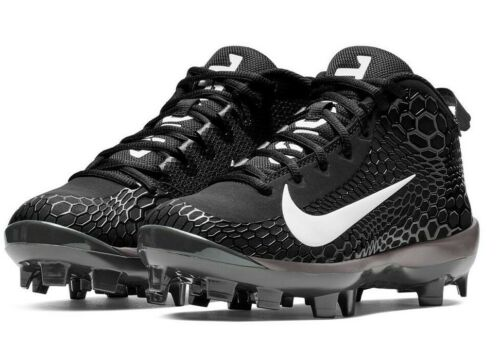 NIKE KIDS FORCE TROUT 5 PRO MCS BASEBALL CLEATS BLACK AH3379-010 YOUTH 5.5Y