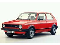 MK1 GOLF GTI **WANTED** BARN FINDS , PROJECT CARS TOP PRICES PRICES PAID!