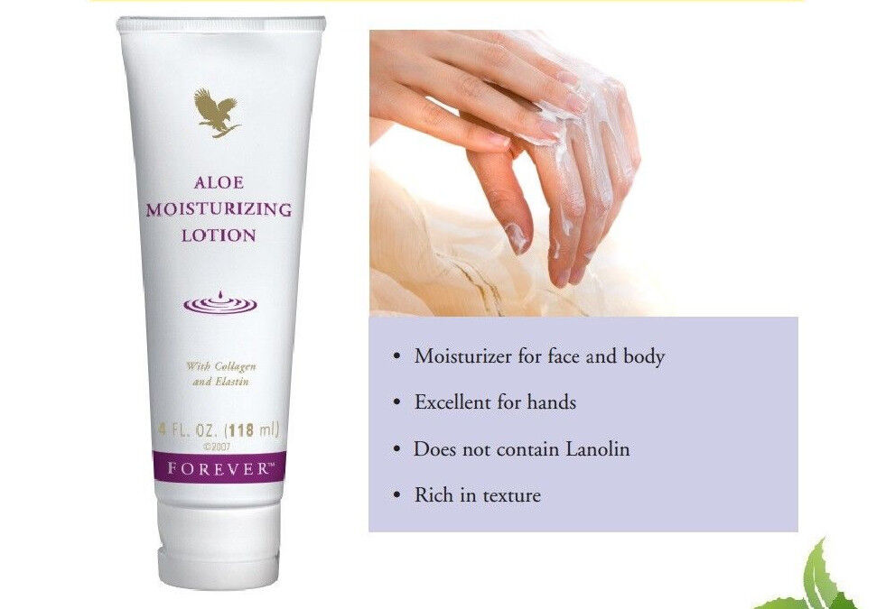 Forever Living Aloe Moisturizing Lotion 118ml Free Fast Delivery (Exp Date 2022)