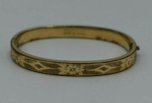 Victorian bangle bracelet patented 1860