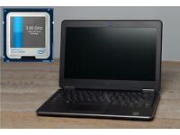 "Dell Latitude 12.5"" i5 3.0GHz VPro 8GB DDR3 RAM, backlit keyboard,SSD"