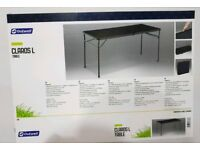 Outwell claros L camping table (brand new in box)