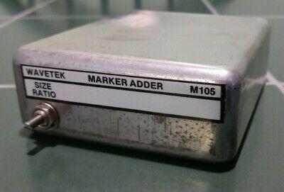 Tested Wavetek M105 Marker Adder Module For 2002a Signal Generators