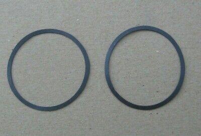 2 Edison Diamond Disc Phonograph Reproducer O Ring Diaphragm Gaskets~Stock b