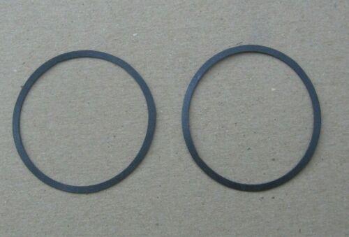 2 Edison Diamond Disc Phonograph Reproducer O Ring Diaphragm Gaskets~Stock c