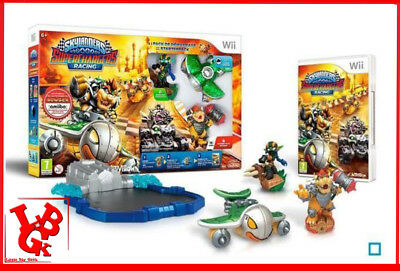 STARTER PACK SUPERCHARGERS RACING WII Skylanders jeu video sous blister # NEUF #